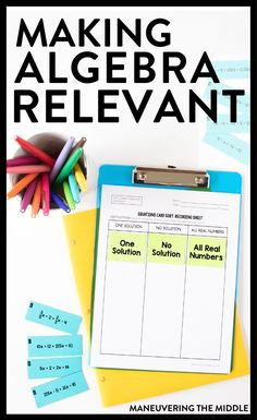 """math in the real world Struggling with students asking """"when are we ever going to use this?"""" Here are 4 ideas for making Algebra relevant to students. Algebra Projects, Algebra Activities, Maths Algebra, Math Resources, Teaching Math, Math Sites, Math Multiplication, Math Math, Guided Math"""