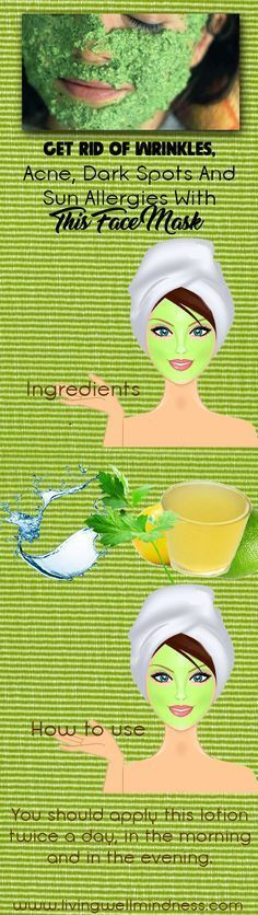 We will reveal the recipe of an extremely effective homemade cream of lemon (apple cider vinegar) and parsley leaves, which