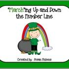 This is an addition math center.  Each card has a vertical number line to help your students.  Enjoy!  Susan Pickens...