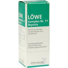 LOEWE KOMPLEX Nr.11 Bryonia Tropfen:   Packungsinhalt: 50 ml Tropfen PZN: 04923871 Hersteller: Infirmarius GmbH Preis: 8,64 EUR inkl. 19…