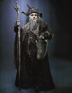 New Photos from THE HOBBIT Featuring Great Goblin, Radagast and Galadriel - News - GeekTyrant