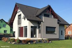 Piękna realizacja naszego projektu: Dom pod liczi. Zobacz więcej zdjęć na: archon.pl Shed, Outdoor Structures, Design, Barns, Sheds