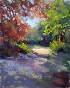 Karen Margulis   PASTEL    Early Spring in Georgia