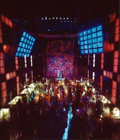 Design is fine. History is mine. — Interior of the Studio 54, 1977-81. New…