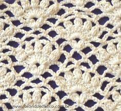 Delicadezas en crochet Gabriela: Puntos fantasía