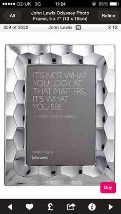 Silver photo frame!!