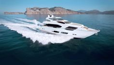 Sunseeker 95 Yacht | The 17 Hottest Luxury Debuts of the Coming Year
