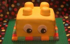 Seen a similiar cake online and decided to give it a go. Pretty easy design and a fun cake to make. All the mini blocks are made with a mould and are edible. Cake Online, Butter Dish, How To Make Cake, Amazing Cakes, Simple Designs, Dishes, Easy, Fun, Simple Drawings