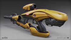 ArtStation - Destiny: Exotic Rifle, Mark Van Haitsma