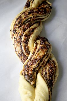 Culinary Couture: Chocolate Walnut Twist Bread