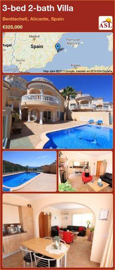 3-bed 2-bath Villa in Benitachell, Alicante, Spain ►€325,000 #PropertyForSaleInSpain