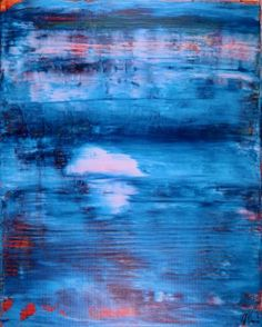 "Saatchi Art Artist Nestor Toro; Painting, ""Blue Window-  Ocean"" #art"