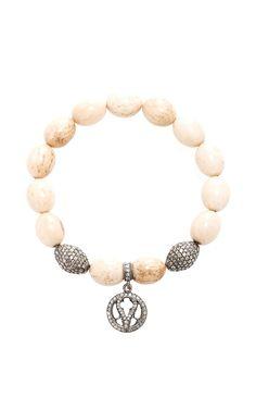 Quatreofoil Beaded Bracelet by Loree Rodkin for Preorder on Moda Operandi