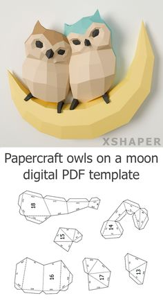 papercraft owls pdf template Paper Owls, 3d Paper, Paper Crafts, Free Facebook Likes, Best Diet Pills, Cool Gadgets To Buy, Get Gift Cards, Easy Food To Make, Craft Kits