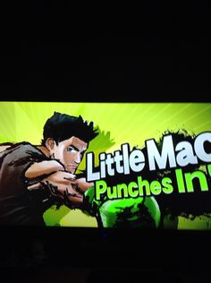 Little Mac's splash art for SSB!