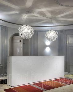 Hope Fluo Pendelleuchte Ø:72cm - Luceplan im Online Shop für Tisch-Pendelleuchten   Hamburg   Berlin   Prediger Lichtberater – Design Leuchten & Lampen Online Shop