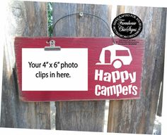 happy campers, happy campers sign, camping decor, camping decoration, travel trailer decor, travel trailer sign, camping, 253