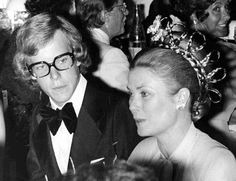 Prince Albert and his mother, Princess Grace, in 1974. AP