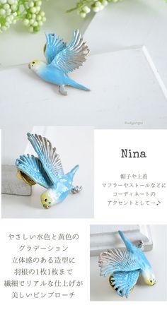 ☆★☆parakeet Pins