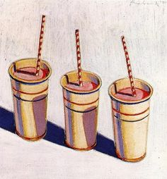 Wayne Thiebaud: One of America's greatest artists. I adore his work!