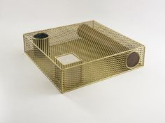 Faye Toogood  Caged Elements Table 2013  Galerie BSL