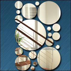 Miroir Lot de ronds