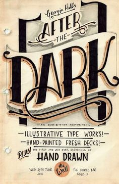 typographic poster bshk 2014 7 30 Stunning Typographic Posters