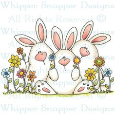 Bunny Huddle =  Item Number: #CY663