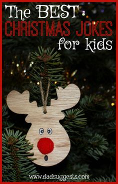 These are the 25 best Christmas jokes for kids and families. Celebrate the holidays with these legitimately funny holiday holiday-themed jokes. There are exactly 25 so you can use them as your very own Christmas joke Advent calendar with the kids. Christmas Crafts For Kids To Make, Best Christmas Presents, Christmas Activities For Kids, Merry Christmas To You, Family Christmas, Diy For Kids, Christmas Holidays, Kids Crafts, Christmas Ideas