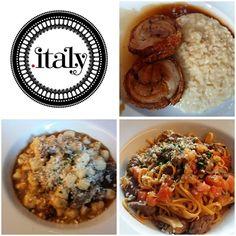 Nossa comidinha do Italy Restaurante.  #italy #italianfood   @donamanteiga #donamanteiga #danusapenna #gastronomia #food #dessert #pie www.donamanteiga.com.br