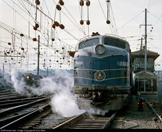 RailPictures.Net Photo: B&O 1441 Baltimore & Ohio (B&O) EMD E9(A) at Washington, District of Columbia by John West