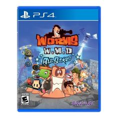 Worms WMD All Star - PRE-Owned - PlayStation 4