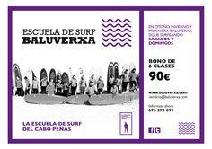 INICIATE O PERFECCIONA TU SURF CON BALUVERXA , LA ESCUELA DEL CABO PEÑAS http://www.baluverxa.com/2016/01/surfea-todo-el-ano-con-baluverxa_18.html