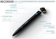 Recorder is this magic pen that converts your written notes into electronic files and then transfers it to your phone and computer via Bluetooth.