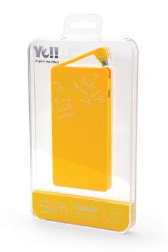 Energy Slim BPR52 Nice Packaging Design @yelltowin #BPR52 #energyslim #powerbank