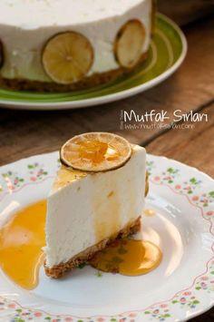 Limonlu Cheesecake   Mutfak Sırları