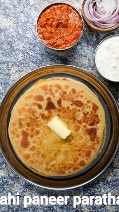 Spicy Recipes, Cooking Recipes, Curry Recipes, Comida India, Paratha Recipes, Paneer Recipes, Chaat Recipe, Roti Recipe, Indian Dessert Recipes