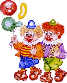 gifs et tubes clowns Gif Animé, Animated Gif, Art Papillon, Happy Birthday Celebration, Scenery Paintings, Send In The Clowns, Clowning Around, Romantic Pictures, Cartoon Gifs
