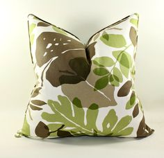 Tropical Pillow Cover Cushion Cover Decorative by trendypillows, $35.00