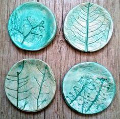 air dry clay plates tutorial
