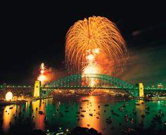Feuerwerk, Harbour Bridge, Sydney