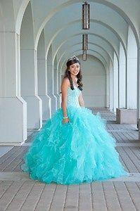 quinceanera dress Tiffany blue   eBay