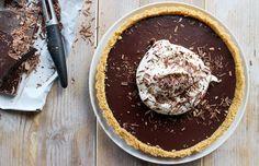 chocoladetaart2 Pureed Food Recipes, Baking Recipes, Dessert Recipes, Desserts, Cake Cookies, Cupcake Cakes, Fudgy Brownies, Sweet Tarts, High Tea