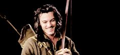 Luke Evans as Bard. How cute is he?