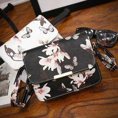 Women Fashion Floral leather Shoulder Bag Satchel Handbag Retro Messenger Bag in Clothing, Shoes & Accessories, Women's Handbags & Bags, Handbags & Purses Mini Handbags, Vintage Handbags, Cross Body Handbags, Purses And Handbags, Crossbody Shoulder Bag, Shoulder Handbags, Leather Shoulder Bag, Shoulder Strap, Leather Purses
