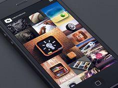 Mobile Portfolio by Creative Dash. 25 Stunning #Mobile #UI Examples
