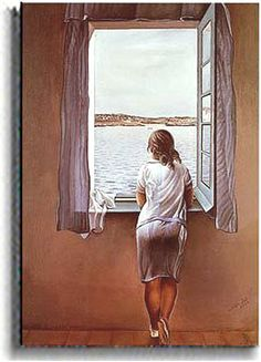 Salvador Dali. So unlike his other work.