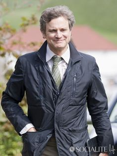 Colin Firth filming and talking about The Railway Man [May 2012]