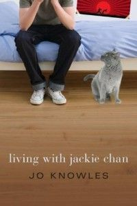 Living with Jackie Chan by Jo Knowles. Companion to Jumping Off Swings. After fathering a baby, a teenager moves in with his karate-loving uncle and tries to come to terms with his guilt—and find a way to forgive. Jackie Chan, Ya Books, Good Books, Realistic Fiction, Young Adult Fiction, Mentor Texts, One Night Stands, Real Friends, Karate