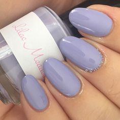 "johaslovenailpolish ""Lilac Meadows"" - pastel lilac #indie nail polish / lacquer from the Spring collection"